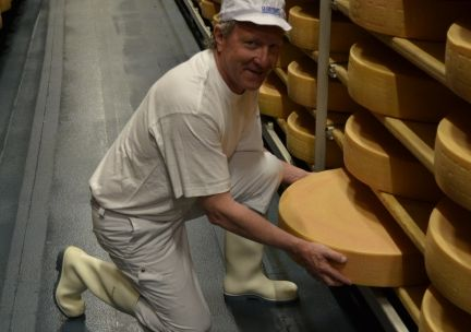 Fromagerie d'Ogoz - affinage